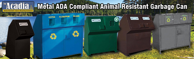 Metal Garbage Cans Are The Ultimate Bear Proof Trash