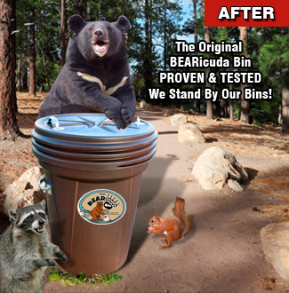 After bearproof Can