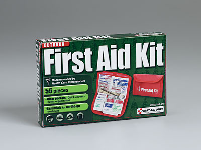 55 pc Wilderness First Aid Kit