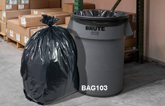 Garbage Bag Liners And Ties For 30 32 Gallon Trash Cans