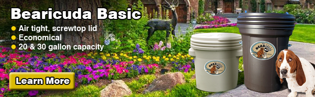 Basic Bear Proof Trash Cans