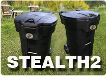 Stealth2 bearproof Trash Can