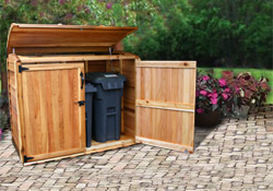Trash Can Enclosure Plans Pdf Woodworking