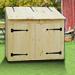 Pine Storage Bin
