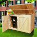 Large Cedar Storage Shed