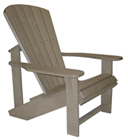 Beige Adirondack Chair