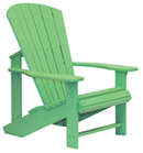 Mint Green Adirondack Chair