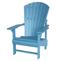 Sky Blue Adirondack Chair