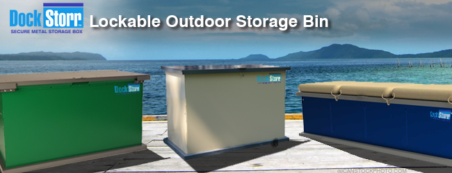 U0027DockStorru0027 Animal Resistant Metal Storage Bin