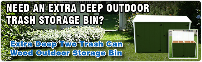 Two Can Storage Bin
