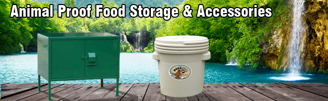 animal proof food storage
