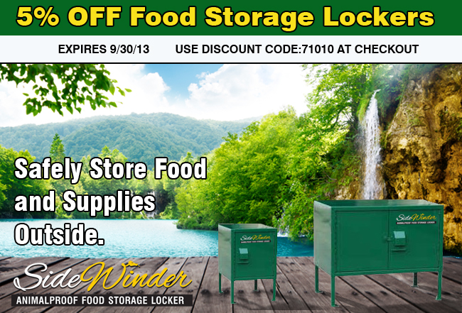 food lockers promo