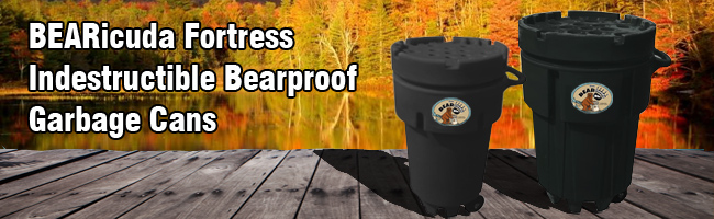 Indestructible bearproof can
