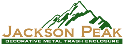 Jackson Peak Decorative Trash Bin