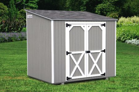trash storage shed