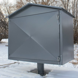 Bear Proof Metal Trash Can Enclosures Meet Tough Regulations