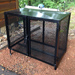 rat proof metal bin