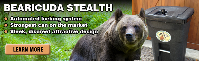 Stealth Bearproof Trash Can