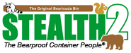 Stealth2 Bearproof Trash Can logo