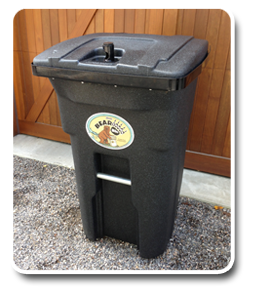 The Stealth Bear Proof Garbage Can By Bearicuda Bins
