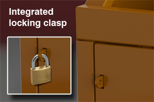 clasping lock