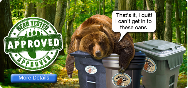 Bear proof tested and approved