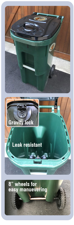 Raccoon And Squirrel Proof Trash And Garbage Cans
